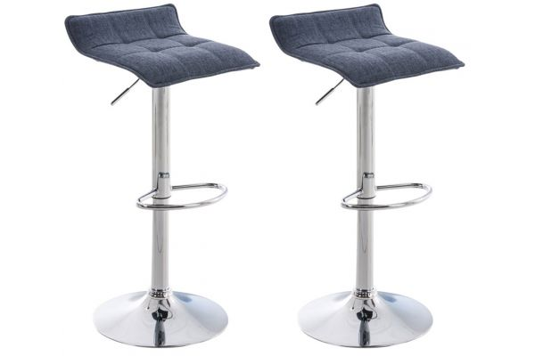 2-pack Barstol Madison Stof
