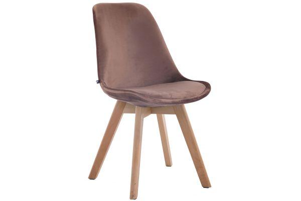 Spisebordsstol Borneo V2 Fløjl