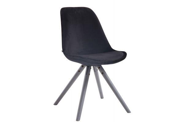 Spisebordsstol Toulouse Fløjl Round