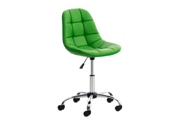Bürostuhl Emil Kunstleder grün